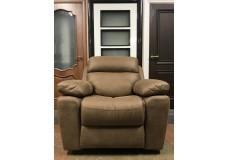 Кресло Реклайнер качалка Alabama Soft (светло коричневое)