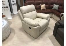 Кресло Реклайнер (бежевый, белый, светлый)