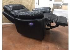Кресло Реклайнер черное с электроприводом
