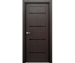 Интерьерные двери Орион венге (декор)