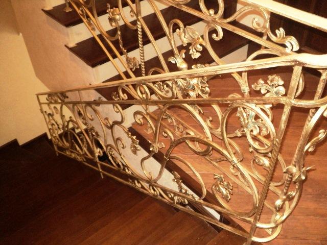 художественная ковка фото лестница
